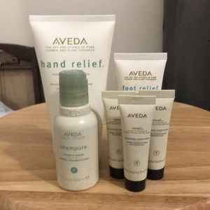 Aveda Hand Relief/ Hair set